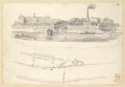 The Thames At Chelsea Hospital, London, c.1830